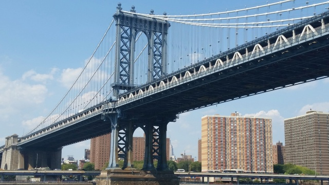 Manhattan Bridge_view 2