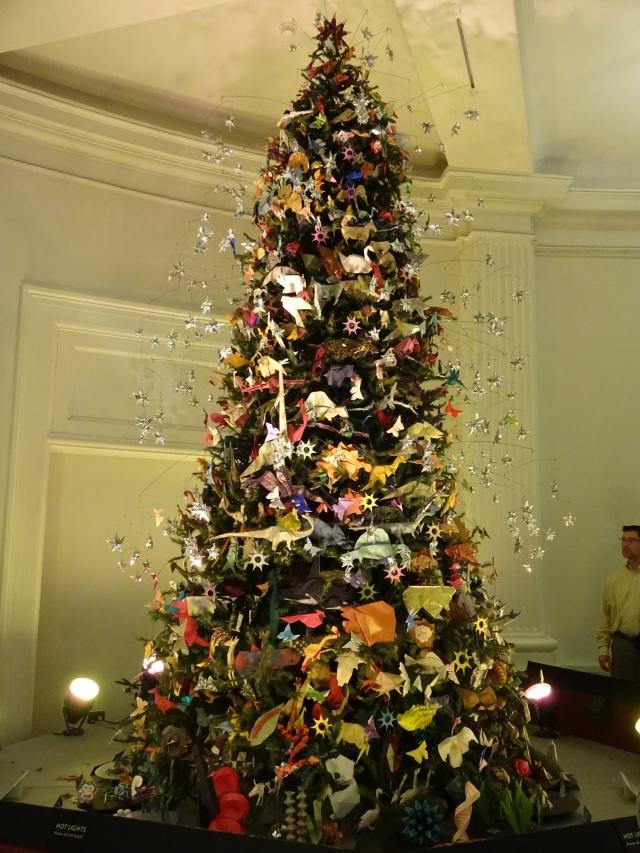Christmas Tree Oragami