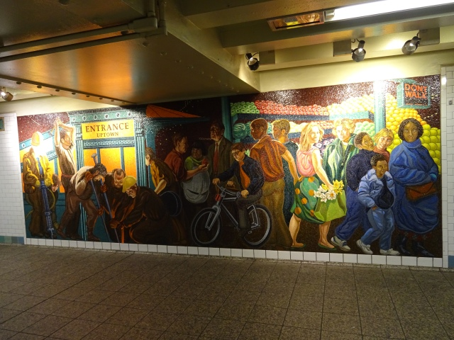 Nyc S Underground Museum Subway Station Art At Times