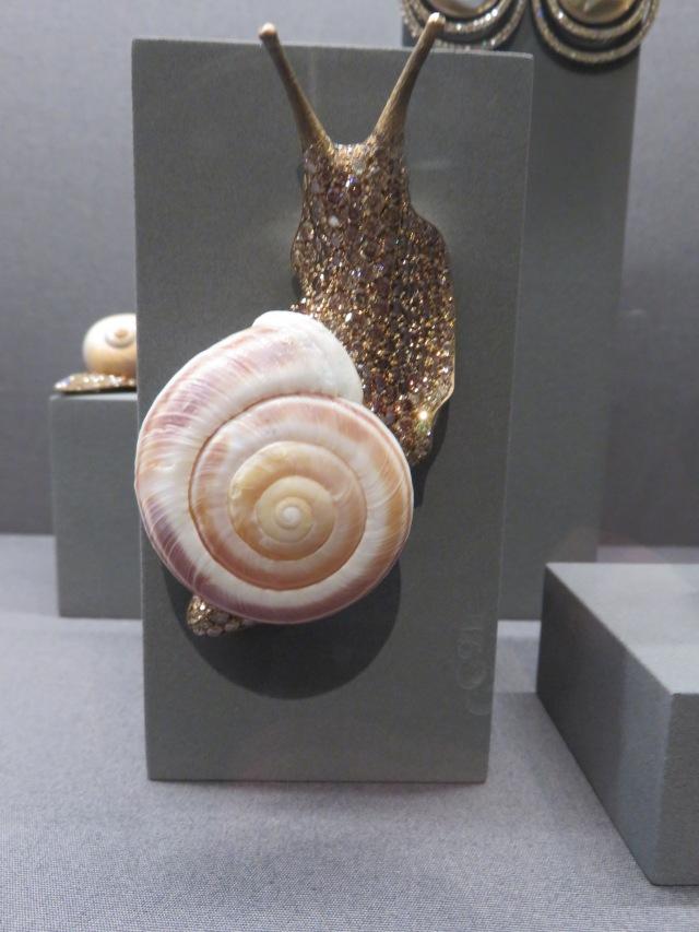 Snail Brooch designed by Gebrüder Hemmerle and Hemmerle, 2014