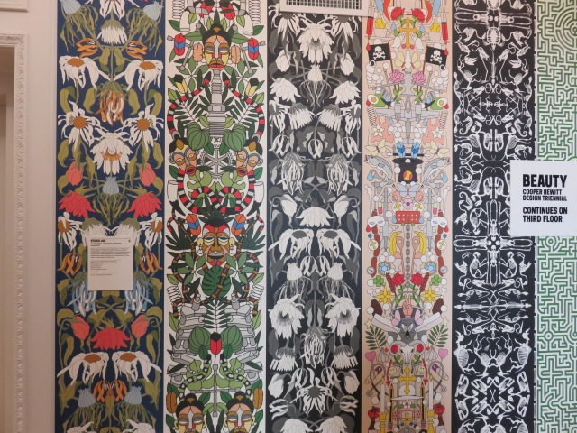 Wallpaper, 2014, designed by Studio Job, Dutch, founded 1998, Job Smeets and Nynke Tynagel and manufactured by NLXL