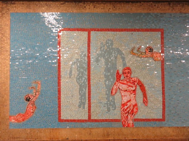 Subway art finding nyc if you wish to see this subway art for yourself take the 1 train to 66th street lincoln center station on the upper west side the mosaics are different on solutioingenieria Image collections