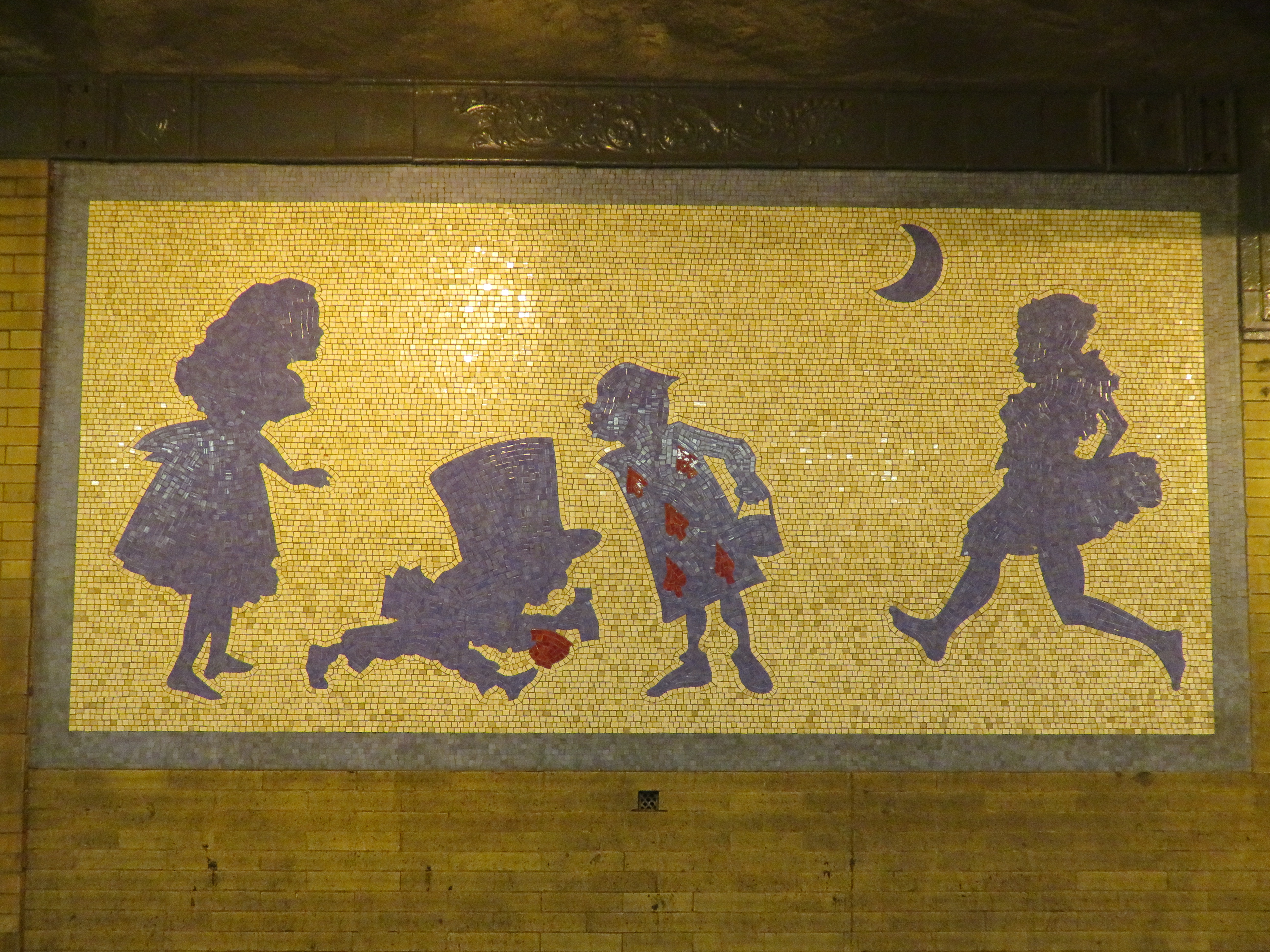 Subway Station Art: 50th Street Station – Finding NYC